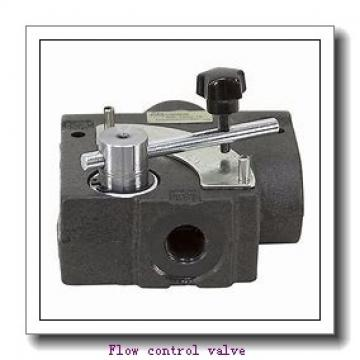 SF/SDF Solenoid Operated Flow Control Hydraulic Valve